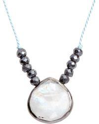 Ela Rae - Sylvie Semiprecious Stone Necklace - Lyst