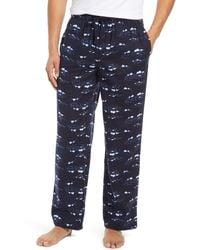 Nordstrom Flannel Pajama Pants - Blue