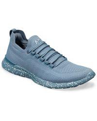 Athletic Propulsion Labs Techloom Breeze Knit Running Shoe - Blue