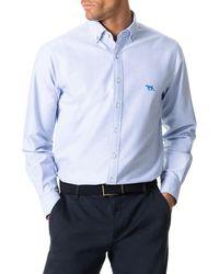 Rodd & Gunn North Island Solid Button-down Shirt - Blue
