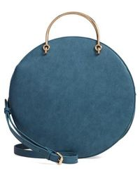 mali + lili - Mali + Lili Vegan Leather Round Top Handle Bag - - Lyst