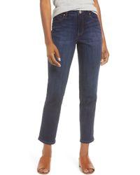 Jag Jeans Reese Vintage Straight Leg Jeans - Blue