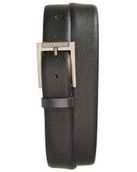 Ted Baker - Parmer Leather Belt - Lyst