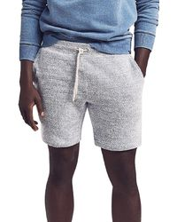 Faherty Brand Lucaya Knit Drawstring Shorts - Gray