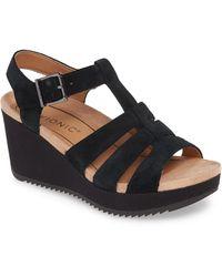 Vionic - Tawny Wedge Sandal - Lyst