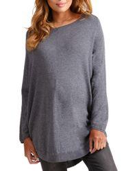 Ingrid & Isabel - Ingrid & Isabel Batwing Poncho Maternity Sweater - Lyst