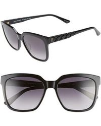 Juicy Couture - Core 55mm Square Sunglasses - Lyst