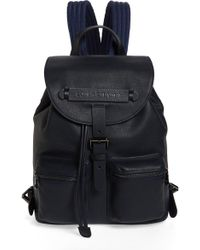 Longchamp - Small 3d Leather Backpack - Lyst