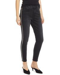 Mavi Jeans - Alissa Side Stripe Ankle Skinny Jeans - Lyst