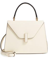 Valextra Iside Mini Top Handle Bag - Metallic - Multicolor