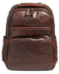 Frye - 'logan' Leather Backpack - Lyst