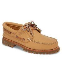 Timberland - Lug Classic Boat Shoe - Lyst