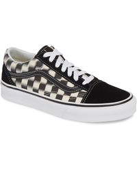 a4b1213c59 Vans - Old Skool Blur Checkerboard Sneaker - Lyst. Vans. Old Skool Blur Checkerboard  Sneaker.  65. Nordstrom · Vans - Classic Slip-on Black ...