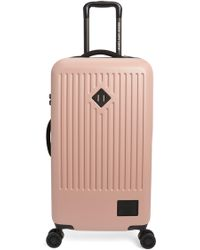 Herschel Supply Co. Trade 29-inch Medium Wheeled Packing Case - Pink