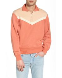 Levi's - Levi's Vintage Clothing Colorblocked Quarter Zip Pullover - Lyst
