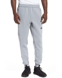 04fa4133394d5 New Balance Fleece Nb Heat Loft Pants (athletic Grey) Workout in ...