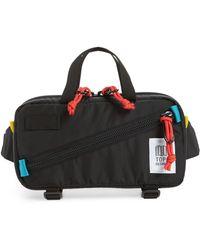 Topo Designs Mini Quick Pack Belt Bag - Black