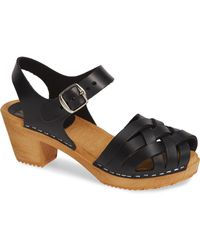 745f2c8d215 Lyst - MIA Elva Clog Sandal in Black