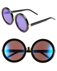 Wildfox - 'malibu Deluxe' 55mm Retro Sunglasses - Lyst