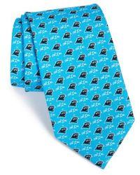 Vineyard Vines | 'carolina Panthers - Nfl' Woven Silk Tie | Lyst