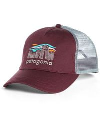 Patagonia - Fitz Roy Boulders Layback Trucker Hat - - Lyst