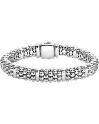 Lagos - Oval Rope Caviar Bracelet - Lyst