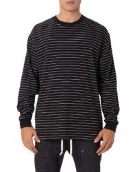 Zanerobe - Pinstripe Flintlock Long Sleeve T-shirt - Lyst