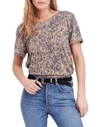 Free People - Army Tee - Lyst