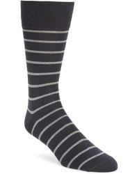 Paul Smith - Ben Metallic Stripe Socks - Lyst