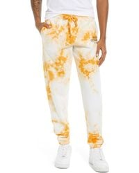 Parks Project X National Geographic Tie Dye Sweatpants - Yellow