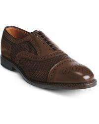 Allen Edmonds - Strand Weave Toe Oxford - Lyst