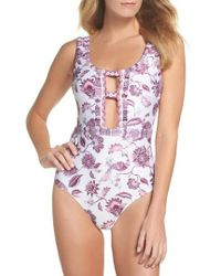Becca - Tahiti One-piece Swimsuit - Lyst