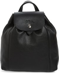 Longchamp - Extra Small Le Pliage Cuir Backpack - - Lyst