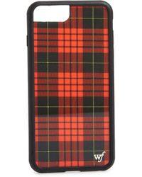 Wildflower - Tartan Plaid Iphone 6/7/8 Plus Case - - Lyst