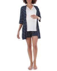 Everly Grey   Adalia 5-piece Maternity/nursing Pyjama Set   Lyst