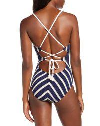 Robin Piccone Abi One-piece Swimsuit - Blue