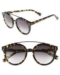 Stella McCartney - 50mm Round Sunglasses - - Lyst