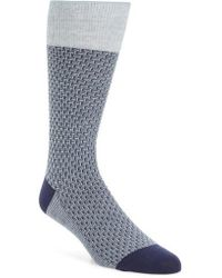 Cole Haan - Dog Bone Texture Crew Socks - Lyst