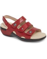 Rockport - Power Comfort 3 Strap Sandal - Lyst