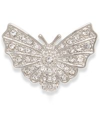 Vince Camuto Pavé Butterfly Pin - Metallic