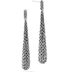 John Hardy - Classic Chain Drop Earrings - Lyst
