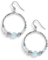 Chan Luu - Graduated Hoop Earrings - Lyst