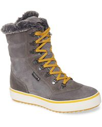 Santana Canada Mid Water Resistant Winter Boot - Grey