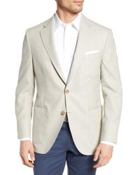 Peter Millar Hyperlight Classic Fit Solid Wool Sport Coat - Multicolor
