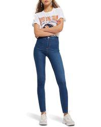 TOPSHOP Moto Joni High Waist Skinny Jeans