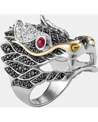 John Hardy 'naga' Dragon Cocktail Ring - Metallic