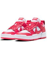 Nike Dunk Low Disrupt Basketball Shoe - Red