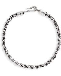 Caputo & Co. - Sterling Silver Chain Robe Bracelet - Lyst