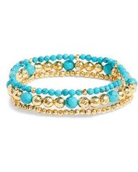 Gorjana - Gypset Set Of 3 Bracelets - Lyst
