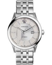 Versace - Aiakos Automatic Bracelet Watch - Lyst
